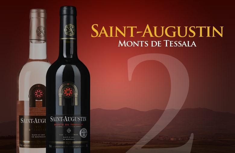 Algerian red rose wine